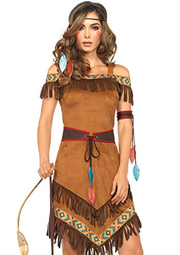 Leg Avenue Women's Native Princess, Brown, X-Large