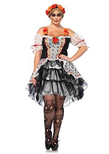 Leg Avenue Women's Costume, Multi, 1X / 2X