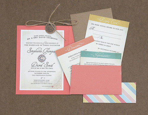 11 gorgeous wedding invitations Pretty Paper Things