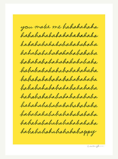 You Make Me Happy by I Love Doodle