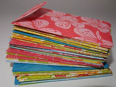 Summer envelopes