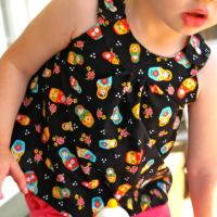 Snappy Toddler Top & Free Downloadable Pattern