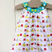Snappy Toddler Dress