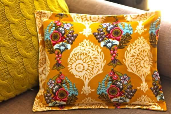 sew a sham pillow with zipper closure
