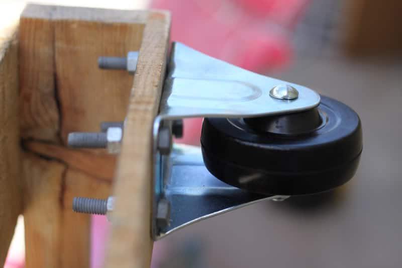 DIY para sofá con ruedas