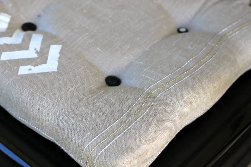 how to make dining chair cushions with