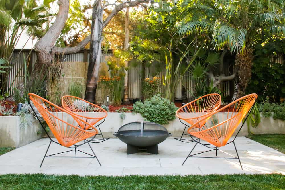 Mid Mod Patio: Before & After | Pretty Prudent on Mid Century Modern Patio Ideas id=82384