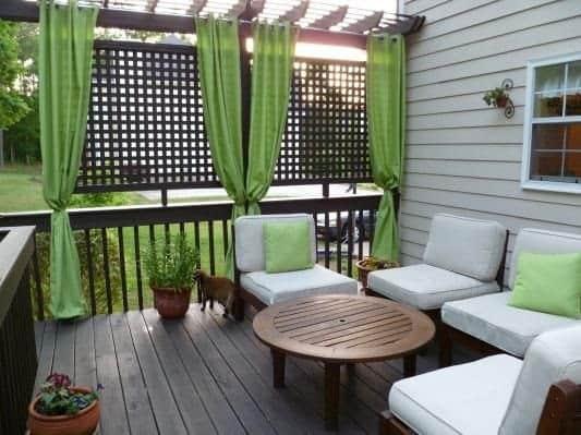 Ingenious Ways To Regain Privacy From Second Story Neighbors Pretty Purple Door
