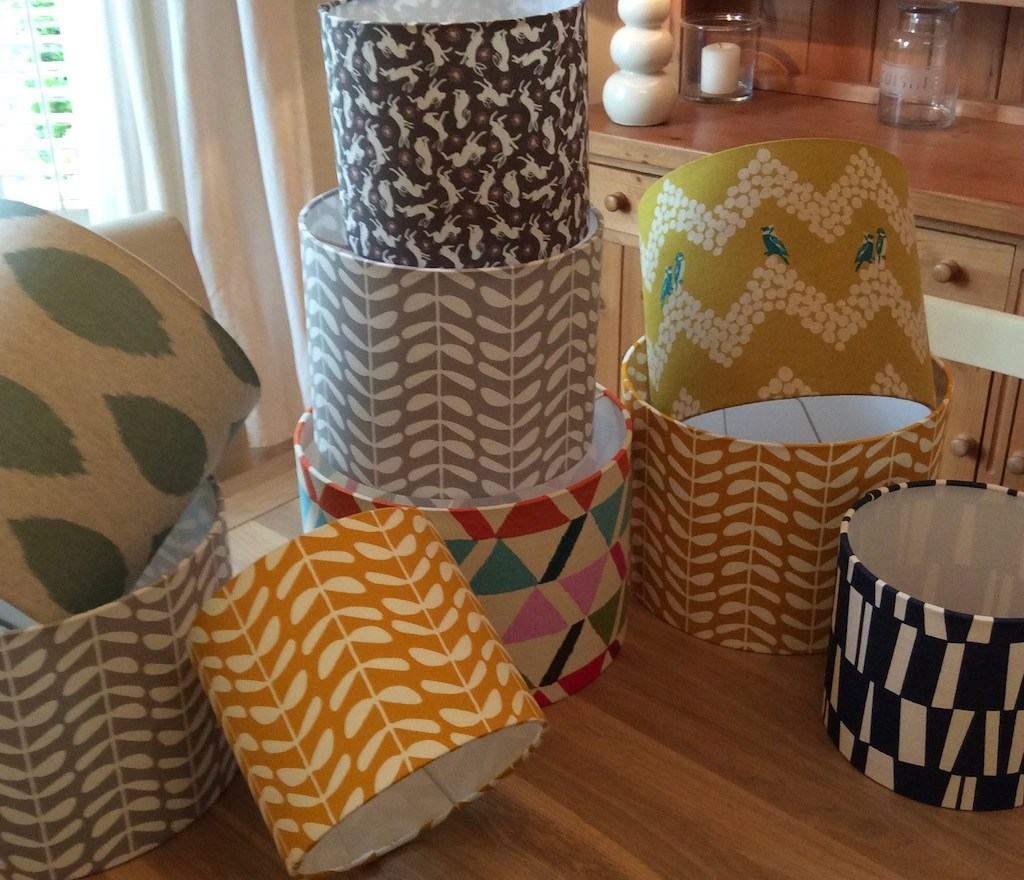 Lampshade making classes for the spring 2020