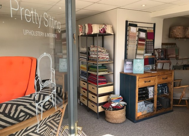 Our lovely showroom is open!