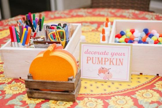 kids thanksgiving party ideas decorate your pumpkin craft