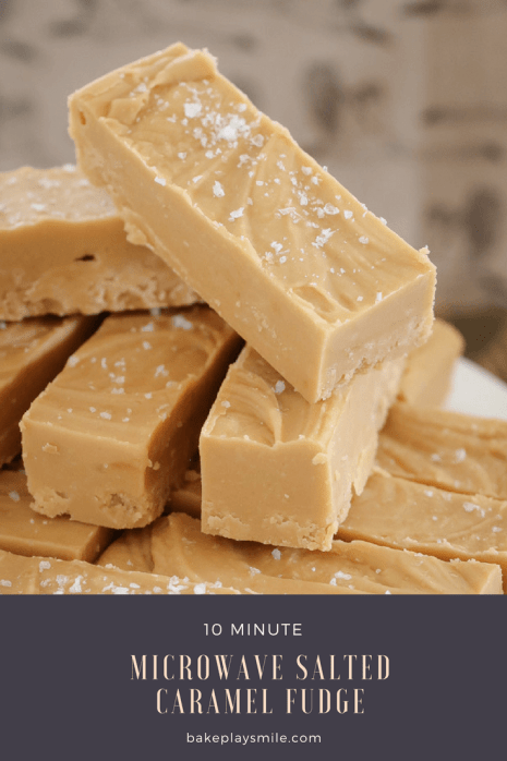 easy microwave fudge recipes salted caramel