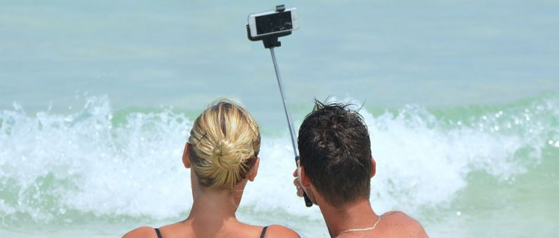 smartphone bagnato