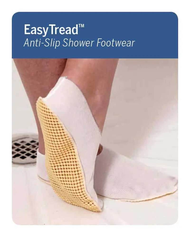 Easy Tread Anti-Slip Shower Footwear
