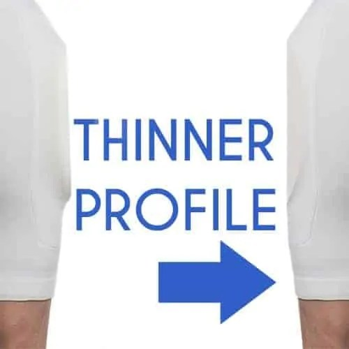 Thinner Profile Geri Hip