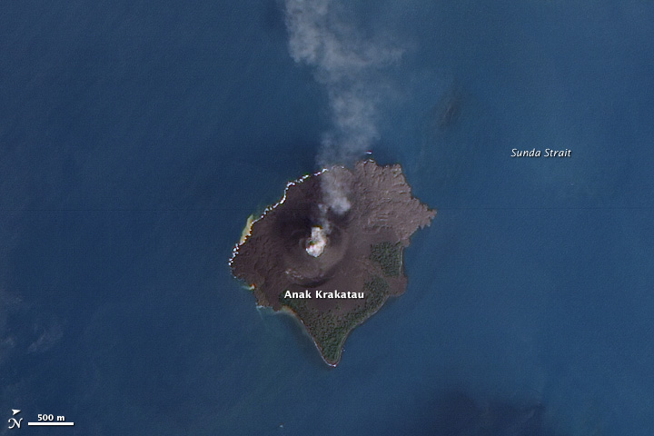 eruzione vulcano krakatoa 2020
