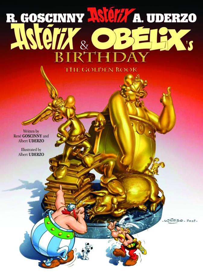 ASTERIX #34 ASTERIX & OBELIX's BIRTHDAY SC