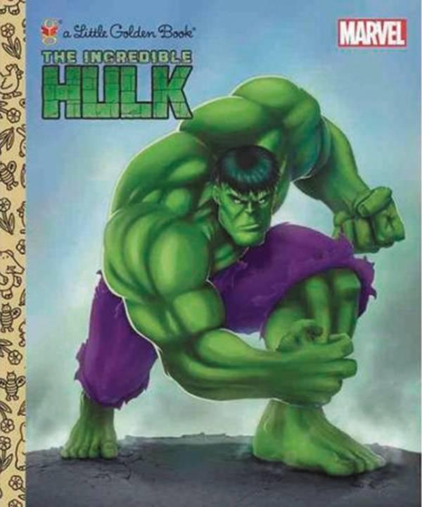HULK, The INCREDIBLE (Little Golden Book)