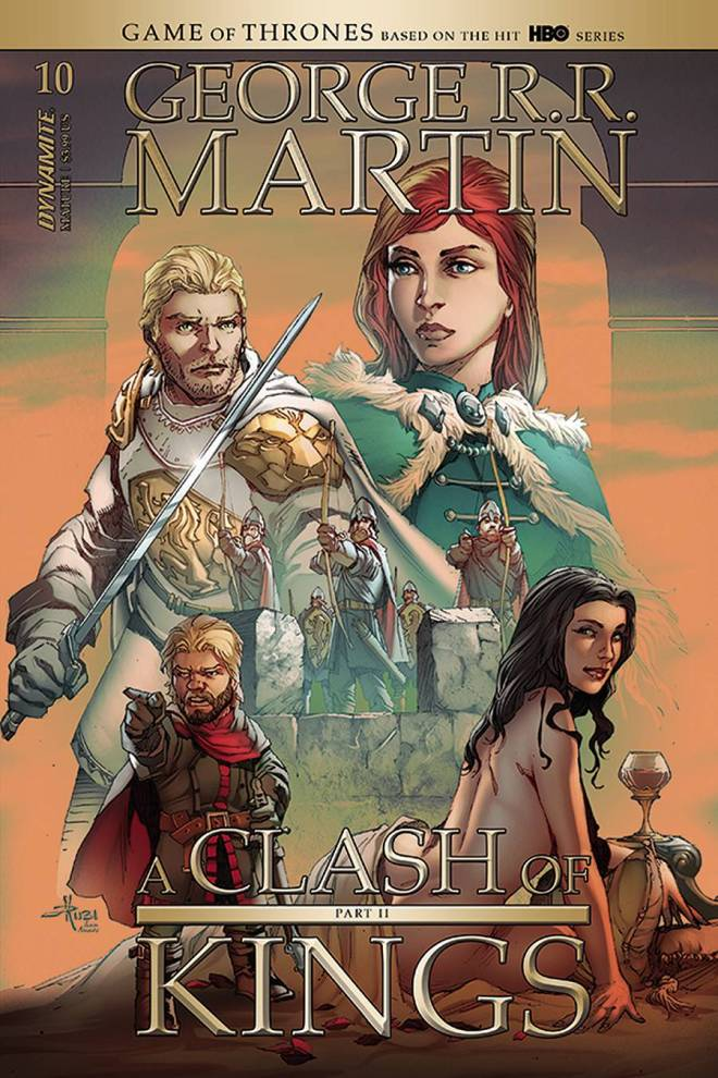 GEORGE RR MARTIN A CLASH OF KINGS #10 CVR B RUBI (MR)