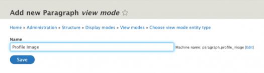 Adding a view mode