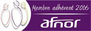 membre adhérent AFNOR 2016