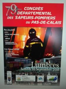 CONGRES DÉPARTEMENTAL DES SAPEURS POMPIERS DU PAS DE CALAIS