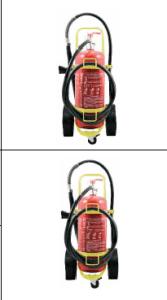 Extincteur mobile de 50Lt à eau avec additif 1,5% certifié CE-EN1866-MEDBENOR