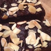 Gluten, Wheat and Milk Free Black Bean Brownies