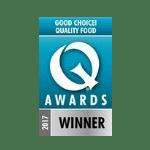 Prewetts Q Good Choice Awards Winner 2017