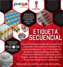 Etiqueta Secuencial