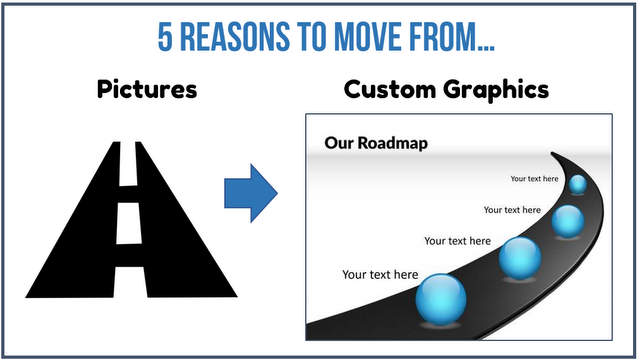 5 Reasons To  Create your own PowerPoint Graphics