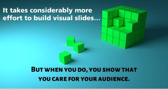 Visual Slide Design Shows You Care
