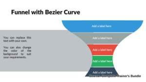 PowerPoint Funnel Bezier Curve
