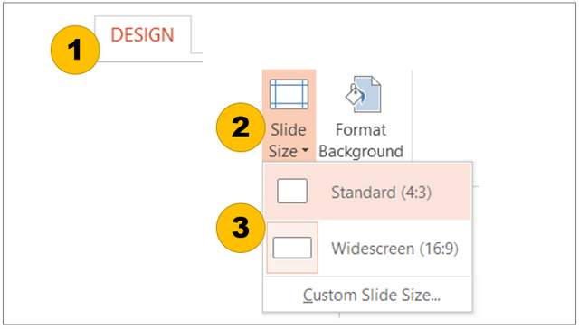 should i use widescreen or standard powerpoint aspect ratio, Powerpoint templates