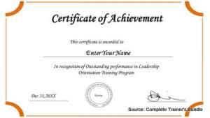 PowerPoint Assets Certificates