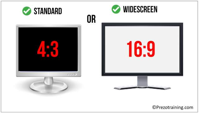 Widescreen or Standard Format
