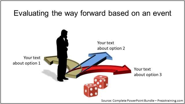 creative-metaphor-in-powerpoint-3-roads-template