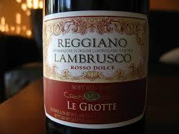 lambrusco vino più acquistato in Italia