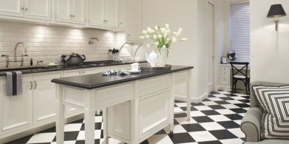 arredo cucina black and white