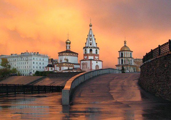 Иркутск на втором месте среди самых красивых городов России