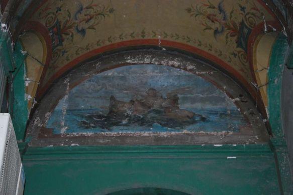 Фреска до реставрации