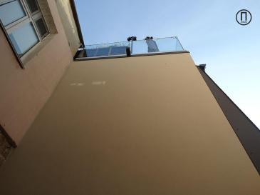 вид из окна дома на переулке Маяковского№9