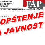 FAP – fali robe u vrednosti 400 kamiona
