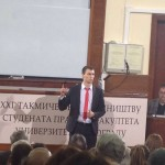 Stiković prvi govornik