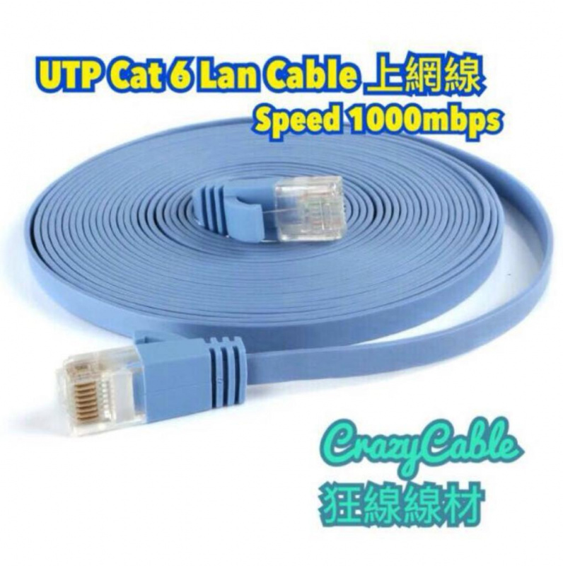 UTP CAT6 LAN CABLE 上網線 - 鋒成科技有限公司
