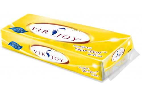 Virjoy 三層廁紙 135g 超抵版 黃色 10卷 (Y212VPY) - 普德有限公司 Burotech Limited