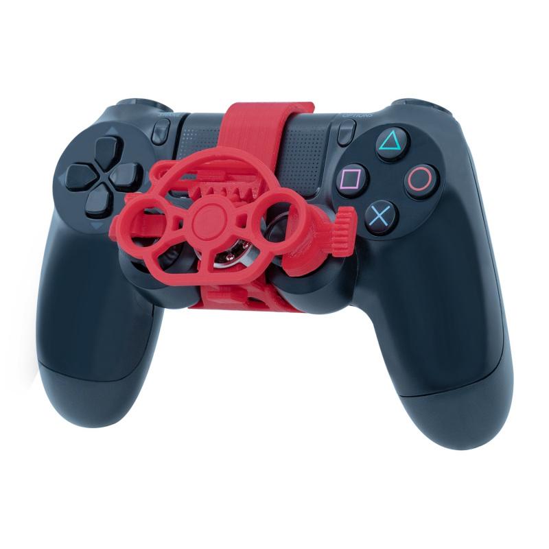 PS4手制迷你方向盤 紅色 - Supreme Factory Limited