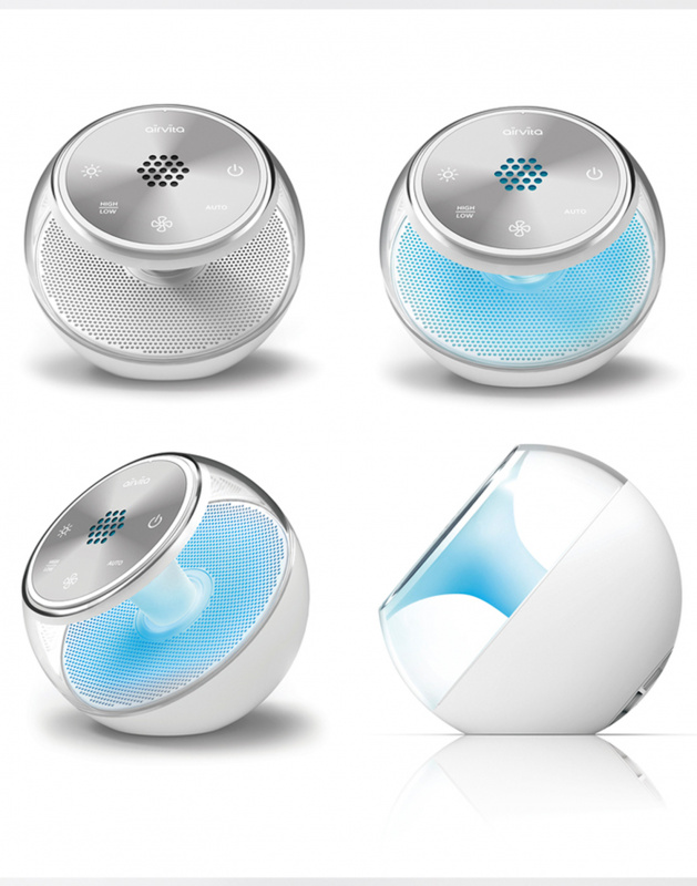 Airvita Aeball USB充電負離子空氣淨化機 - Ideal Digital 數碼生活購物網