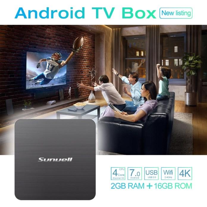 Sunvell H3 TV Box