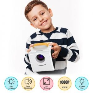 Excelvan Q2 Kids Toy Projector
